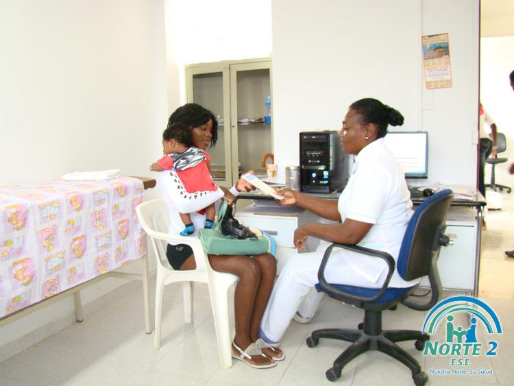 Consulta de medicina general ese norte 2