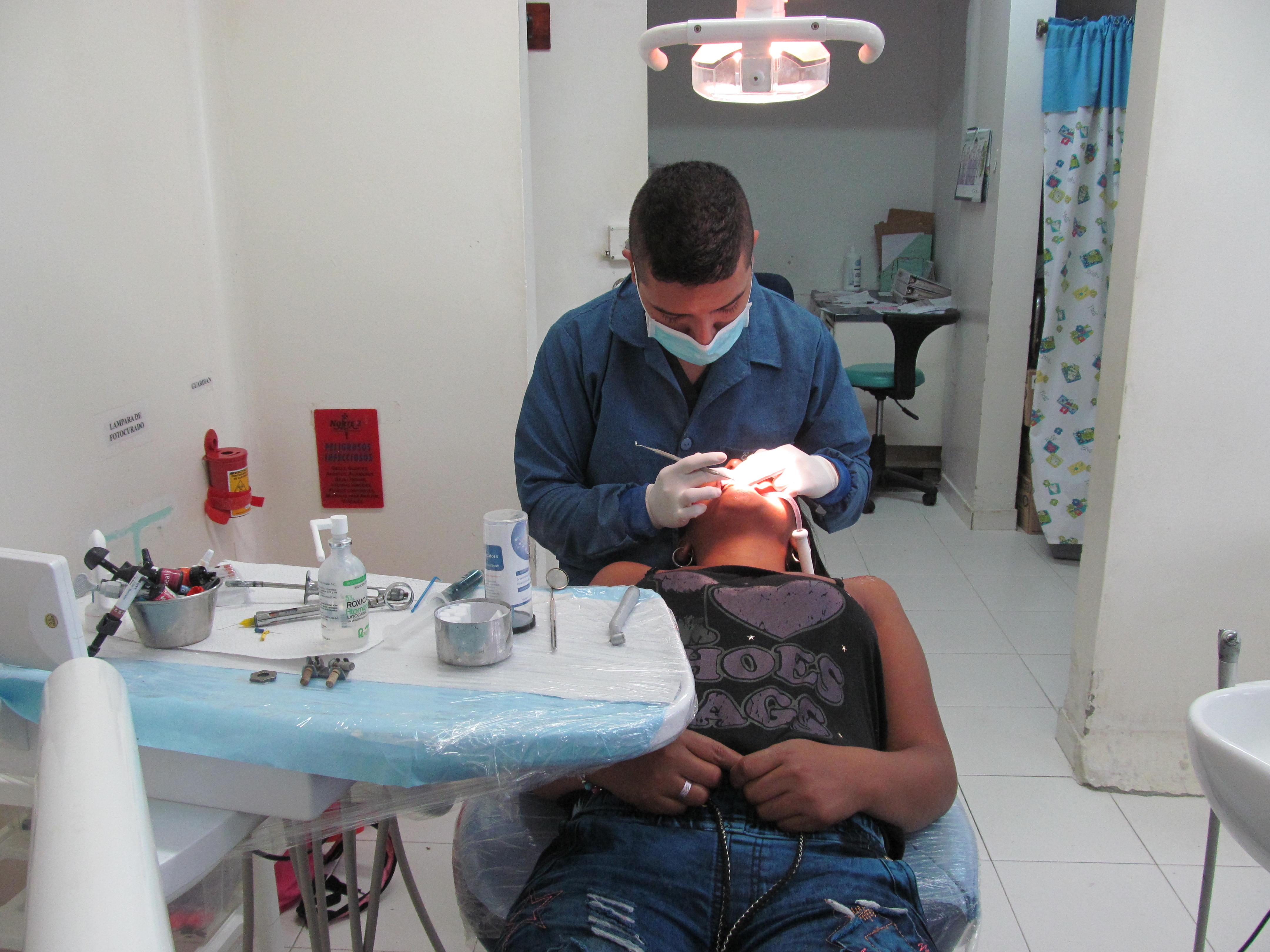 Atención odontológica e higiene oral