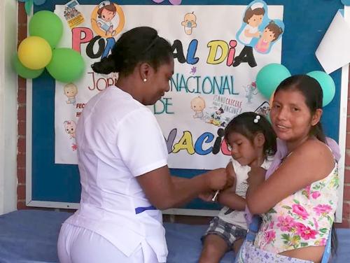 Jornada de vacunación adelanta la ESE Norte 2 en el norte del Cauca