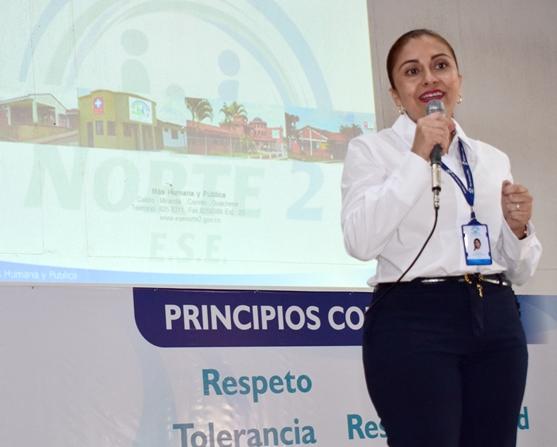 Beatriz Bohórquez Salinas - Gerente ESE Norte 2
