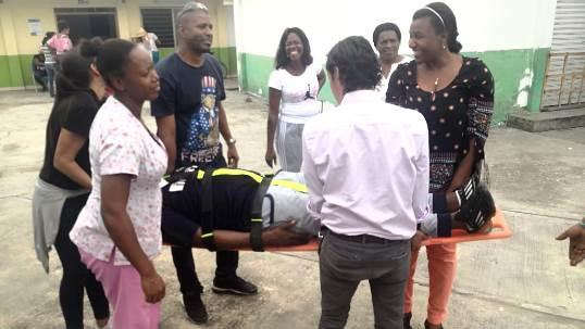 Curso de primeros auxilios se realizó en la Institución Educativa El Ortigal, de Miranda