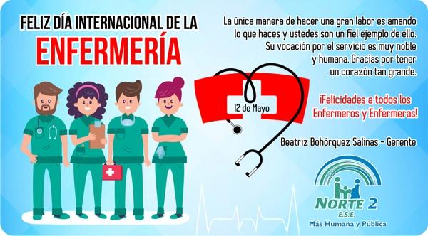 Día de la Enfermería - 12 de Mayo - ESE Norte 2