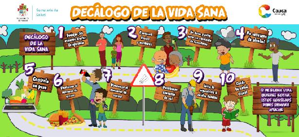 Hábitos y estilos de vida saludables desarrolla la ESE Norte 2 y Secretaría de Salud del Cauca, en Guachené