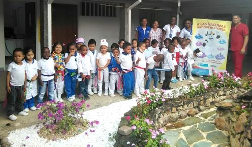 Hogar Infantil Caloto reconoce labor de enfermeros en su municipio