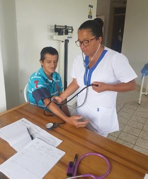 Jornada de salud realizó la ESE Norte 2 en la vereda Monterredondo, Miranda