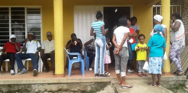 Brigada de salud realizó la ESE Norte 2 en Ciénaga Honda, Guachené