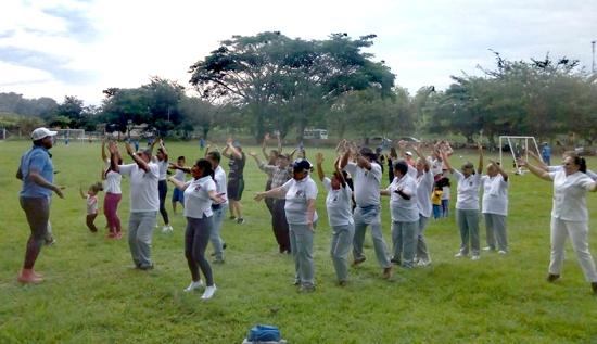En Caloto se promocionan hábitos saludables y deporte como estilo de vida