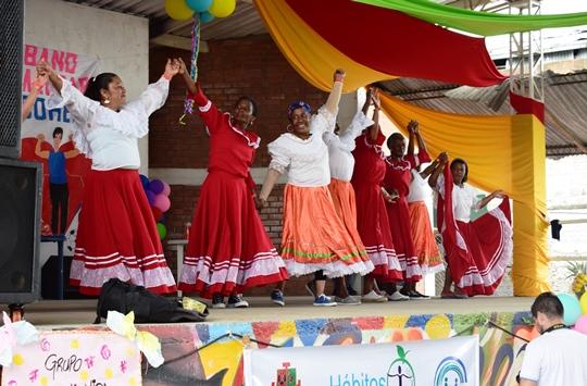 Evento Masivo Urbano – Estilos de Vida Saludables - 'Olores y Sabores' se realizó enCorinto