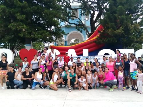 Maratón de Cardio Box se realizó con éxito en el municipio de Caloto