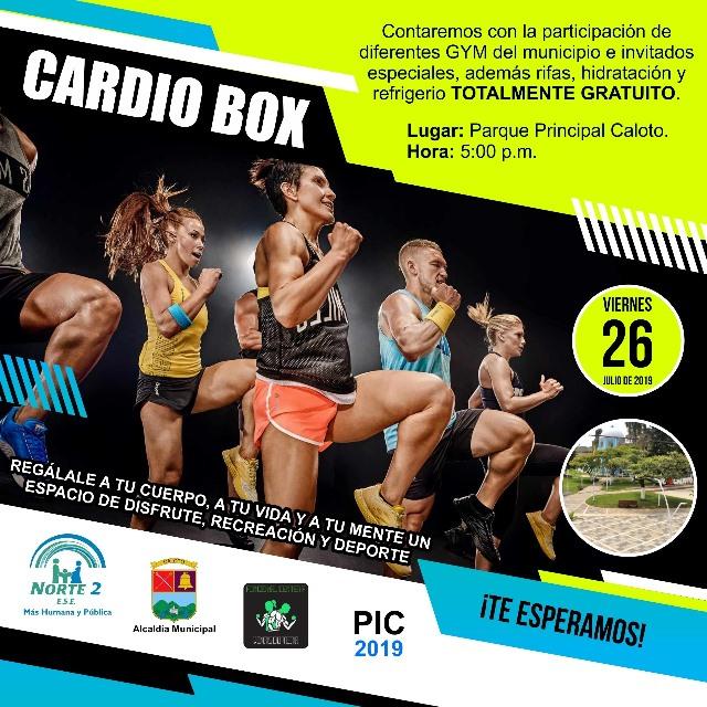 Cardio Box en Caloto - 26 de Julio 2019
