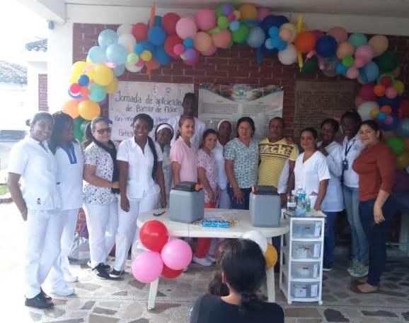 Con las vacunas al día iniciaron la semana los habitantes del norte del Cauca