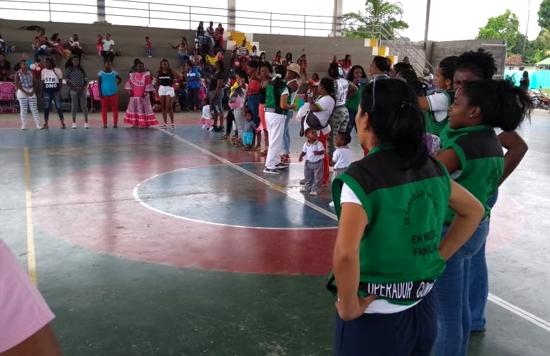 Guachené celebró la Semana Mundial de la Lactancia Materna