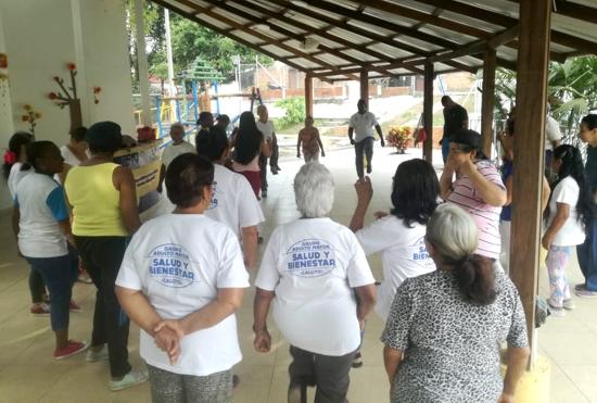 Hábitos saludables se fomentan en Caloto para prevenir enfermedades