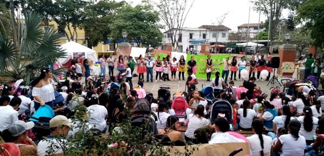 Lactatón realizó la ESE Norte 2 en Miranda, Cauca