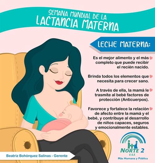 Semana Mundial de la Lactancia Materna - ESE Norte 2