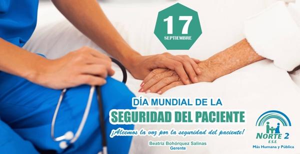 Día Mundial de la Seguridad del Paciente - ESE Norte 2 - Cauca