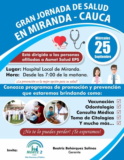 Gran Jornada de Salud para afiliados a Asmet Salud, en Miranda