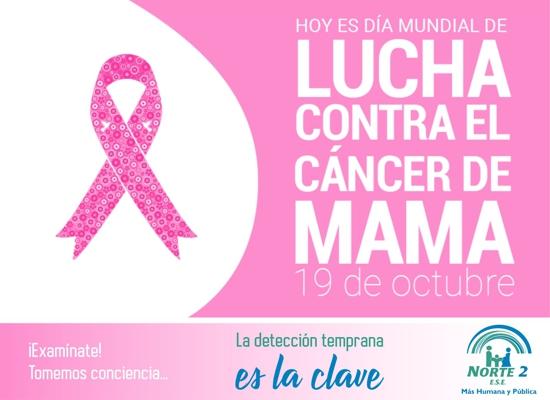 Día Mundial Contra el Cáncer de Mama - ESE Norte 2