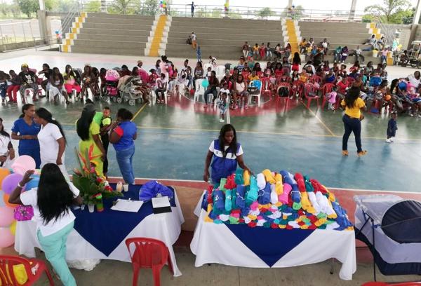 Festival de gestantes y lactantes se realizó en Guachené