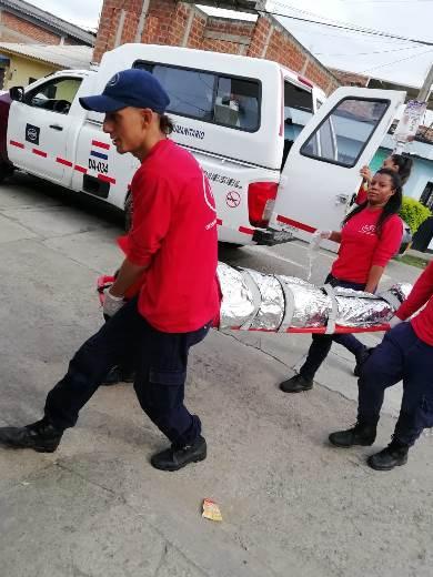 ESE Norte 2 participó activamente en el Simulacro Nacional de Respuesta a Emergencias