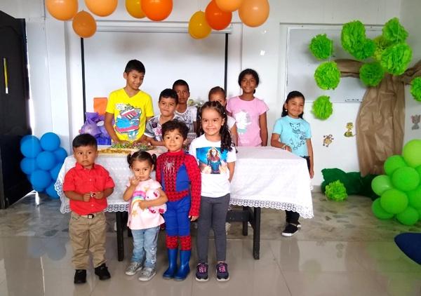 ESE Norte 2 celebró la fiesta de los niños en Corinto