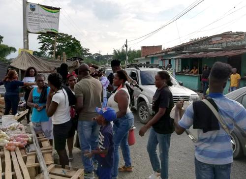 Rumba preventiva de enfermedades se realizó en Guachené