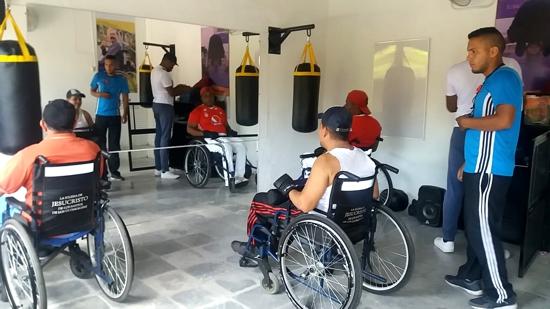 En Corinto se fortalece la actividad física para las personas con discapacidad
