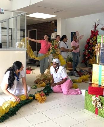 En Miranda se adelantó la navidad para los usuarios del hospital local