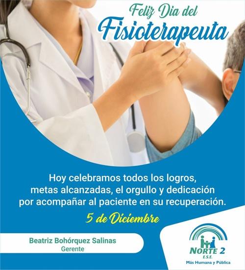 Feliz Día del Fisioterapeuta - ESE Norte 2