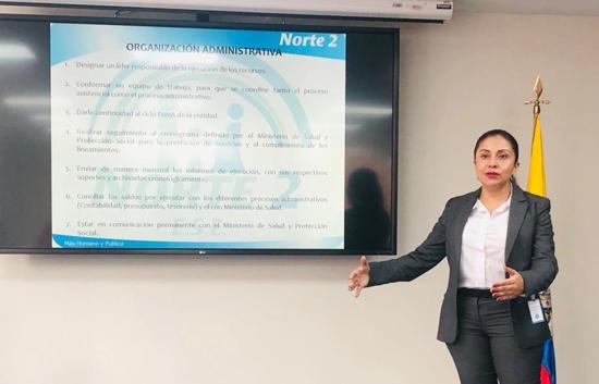 ESE Norte 2 reconocida como experiencia exitosa en los ETCR