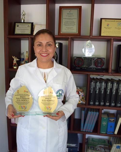 ESE Norte 2 obtuvo reconocimiento por implementar estrategia 4x4 - Beatriz Bohórquez Salinas - Gerente