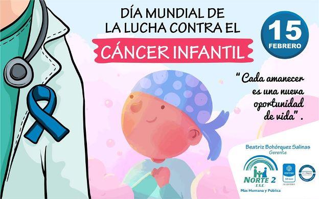 Día Mundial de la lucha contra elCáncer Infantil - ESE Norte 2