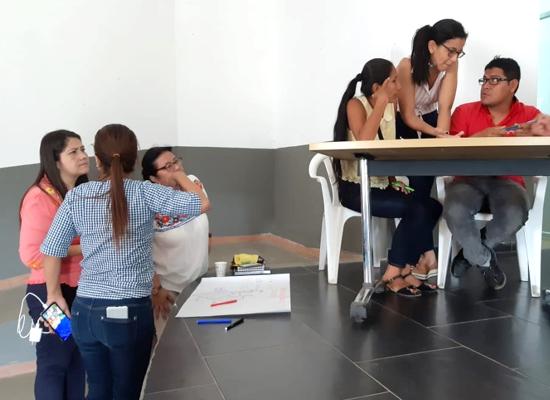 ESE Norte 2 participó en la primera mesa de infancia y desarrollo, en Caloto