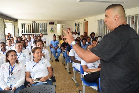 Taller de Humanización sin Estrés se efectuó en Hospital deCaloto