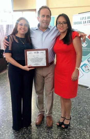 Asmet Salud EPS reconoce labor de la ESE Norte 2 por la calidad en los servicios