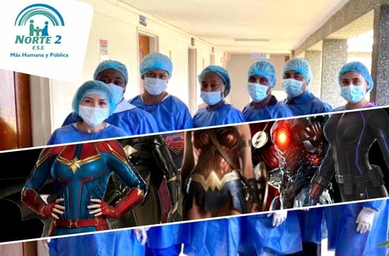 ¡Superhéroes de laSalud! en tiempos deCoronavirus