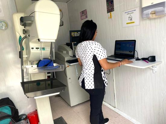 MamografíasenCorinto -Un diagnóstico a tiempo salva tu vida