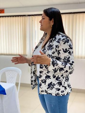 Mildred Gisela Mora Pino, coordinadora Punto de Atención Caloto - ESE Norte 2