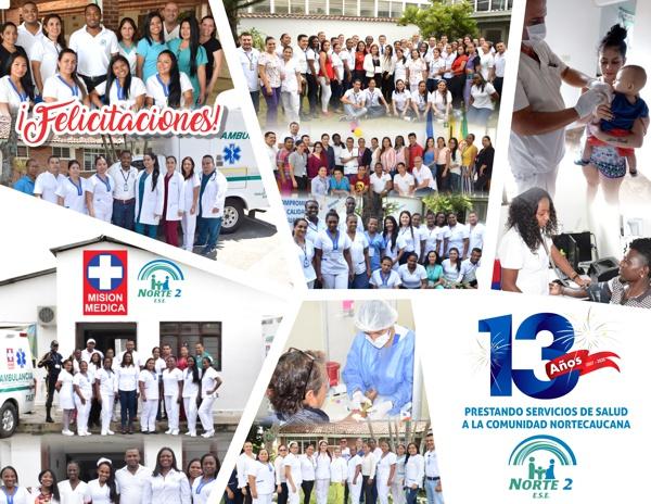 ESE Norte 2: 13 años al servicio de la comunidad nortecaucana