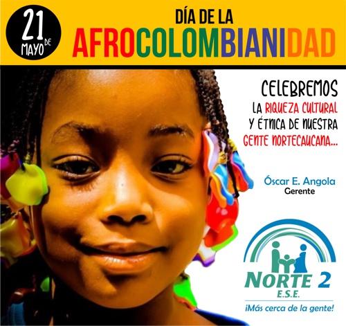 Feliz Día de la Afrocolombianidad: Óscar Angola, gerente ESE Norte 2