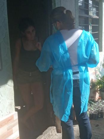 En Caloto continúa la campaña de prevención de enfermedades respiratorias y Covid-19
