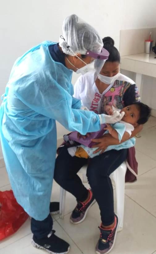 Atención en salud para los habitantes de la vereda Monterredondo, en Miranda