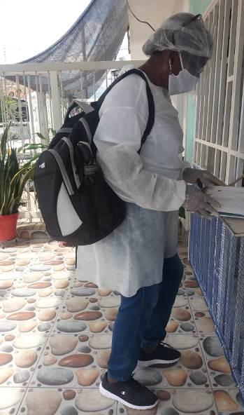 En Caloto, se orienta sobre medidas preventivas ante enfermedades respiratorias