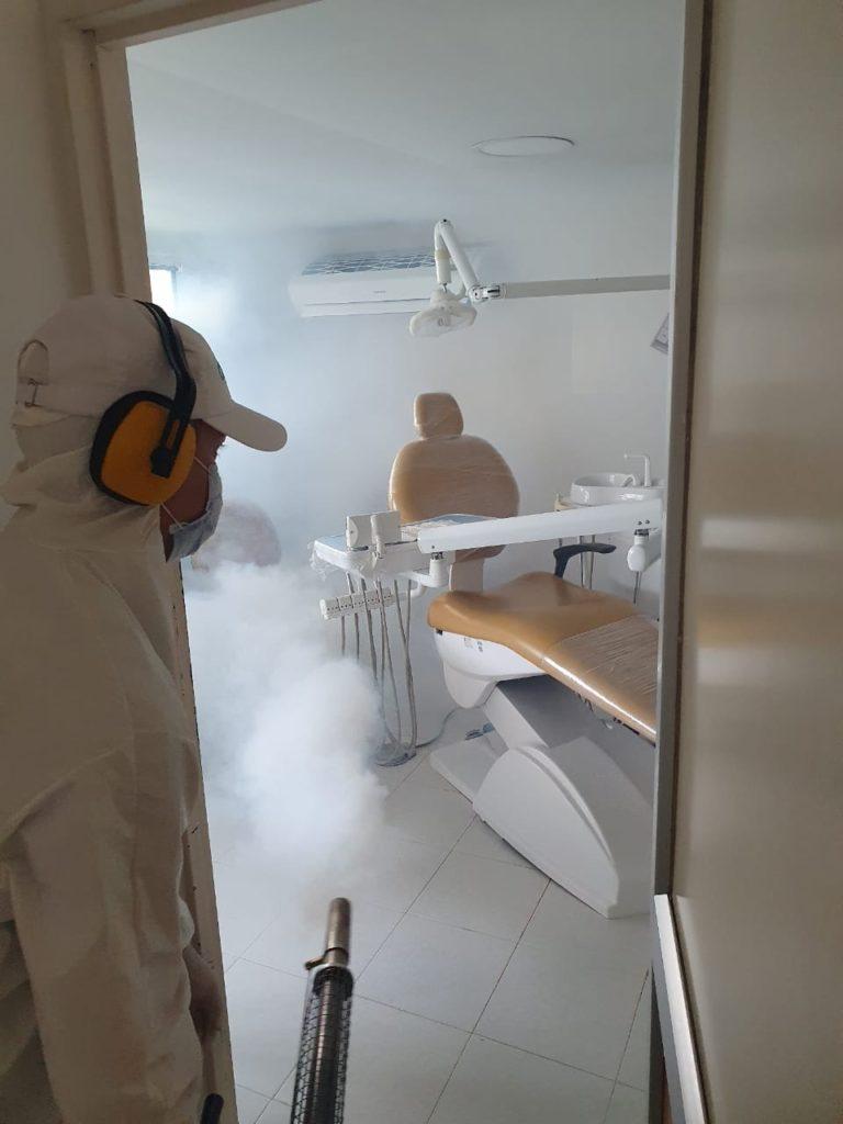 ESE Norte 2 realizó desinfección de las instalaciones físicas de sus 4 hospitales
